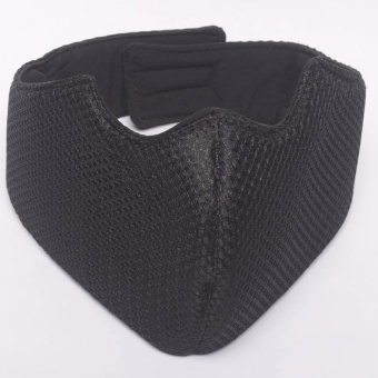 Motor Face Mask with Foam Black