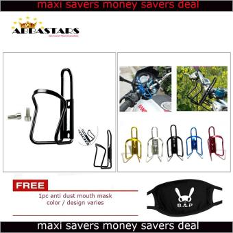 Motorcycle Bike Scooter Black Water Holder Rack Aluminum for HondaXR 200