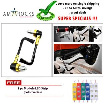 Motorcycle Bike Scooter Gold Rizoma Hand Grip Guard - Break Clutch Lever Protect Hand Guard Universal for Yamaha FZ16