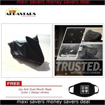 Motorcycle Cover Thick Durable High Quality Waterproof Dustprooffor Honda Beat 110 Fi (Standard)