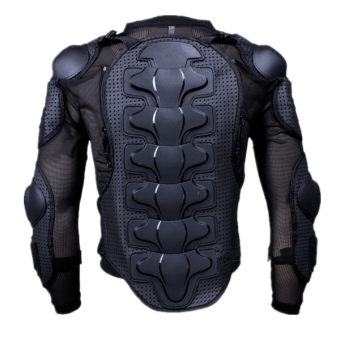 Motorcycle Full Body Protective Armor Jacket Spine Chest Shoulder Riding Gear - 2