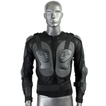 Motorcycle Full Body Protective Armor Jacket Spine Chest Shoulder Riding Gear - 3