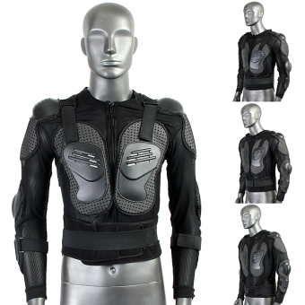 Motorcycle Full Body Protective Armor Jacket Spine Chest Shoulder Riding Gear - 4