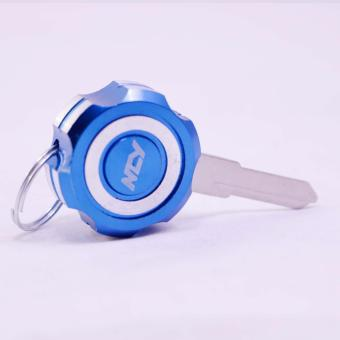 Motorcycle Key Holder Head XST (9801-841-Blue)