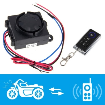 Motorcycle Motorbike Anti-theft Security Alarm System with Remote Control Engine - intl - 3