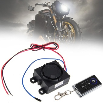 Motorcycle Motorbike Anti-theft Security Alarm System with Remote Control Engine - intl - 2