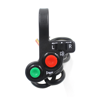 Motorcycle Offroad Horn Turn Signal On/Off Light Switch - picture 2