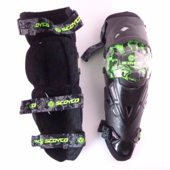Motorcycle Protective kneepad Authentic Motorcycle Knee Protector Motocross Racing Guard Knee Pads Protective Gear Scoyco - intl - 2