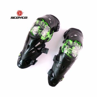 Motorcycle Protective kneepad Authentic Motorcycle Knee Protector Motocross Racing Guard Knee Pads Protective Gear Scoyco - intl - 3