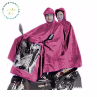 Motorcycle Raincoat Moto Rain Double Person (Maroon) Price Philippines