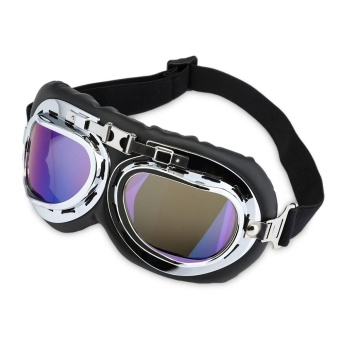 Motorcycle Riding Goggles Outdoor Glasses Motor Eyewear CyclingWind Protection for Harley - intl