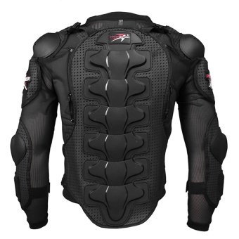 Motorcycle riding protective clothing breathable racing armorjacket - intl - 2