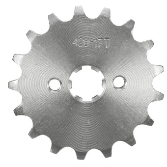 Motorcycle Stainless Steel 10 11 12 13 14 15 16 17 18 19 Tooth Counter Sprocket For 70cc 110cc 125cc Pit Dirt Bike (17 Tooth) - intl