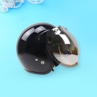 Motorcycle Windshield Helmet Harley Style Helmets Bubble Visor UV 400 Protection - intl Price Philippines