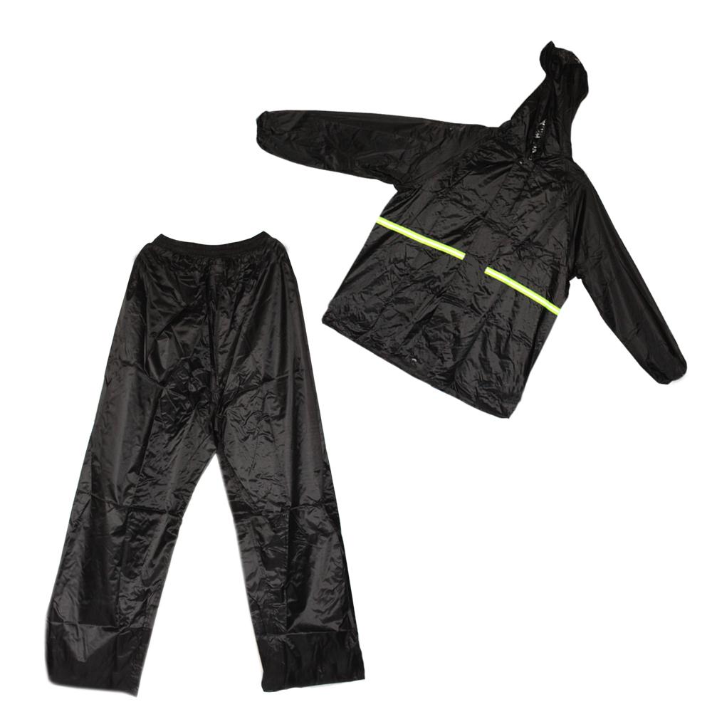 Motorcycle Raincoat Jacket Pants Unisex