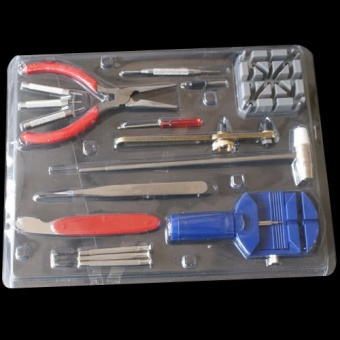 Motors Tire Repair Kits 16Pcs Watch Repair Kit Set Wrist StrapAdjust Tool Kit Back Remover Fix - intl Price Philippines