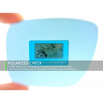MRY POLARIZED Replacement Lenses for Oakley Fuel Cell Sunglasses Ice BLUE (Intl) - 2