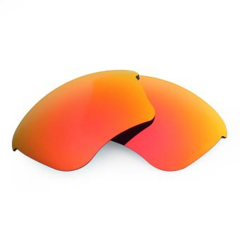 MRY POLARIZED Replacement Lenses for Oakley Half Jacket XLJSunglasses Fire RED (Intl)
