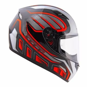 MT Full Face Helmet Mugello G 393 (Black/Neon Orange)