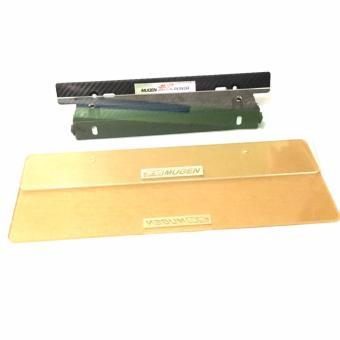 Mugen Car Plate Holder & Mugen Plate Protector - 2