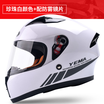 Mustang cool motorcycle helmet men and women winter safety cap full-face helmet