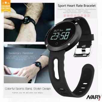 NARY DM58 Smart Watch Bluetooth Heart Rate Blood Pressure Monitor Health Tracker IP68 Water Resistant Compatible with iOS Android