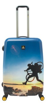 """National Geographic Adventure of Life 27"""" Luggage (Biker)"""