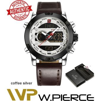 NAVIFORCE 9097 (With Box) W.Pierce brand dual display watch LED digital analog
