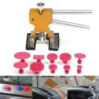 New 11pcs PDR Car Dent Lifter Puller Pulling Tabs Paintless HailRepair Tool - intl