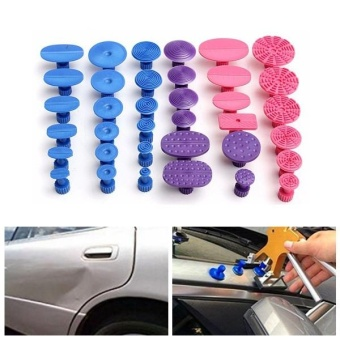 New 36PCS Auto Car Paintless Dent Repair Tools PDR Glue Puller Tabs Removal Kits - intl