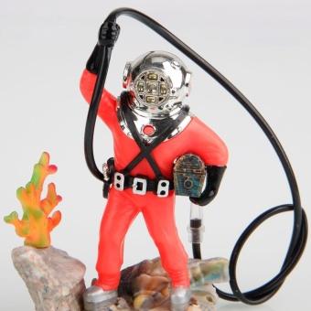 New Aquarium Air-operated Decoration 0-50 Diver with Hose - intl - 5