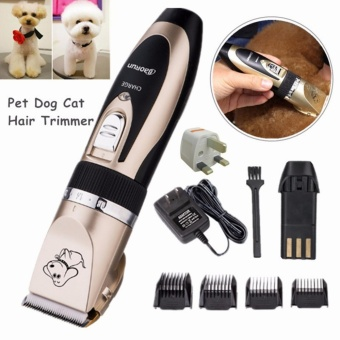 NEW Electric Animal Pet Dog Cat Hair Trimmer Shaver Razor Grooming Quiet Clipper - intl