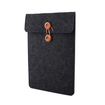 New Soft Laptop Case Sleeve Anti-scratch Pouch For Macbook Tablet PC(13inch Dark Grey) - intl