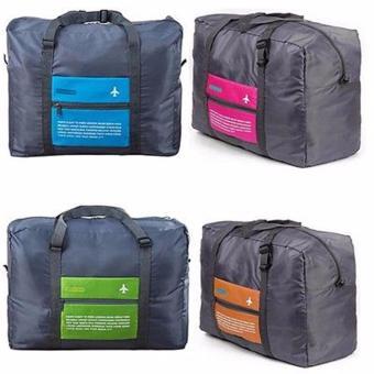 New Style Aircraft Bag Portable Large-capacity Hand Luggage StorageBag Foldable Waterproof Handbag Travel Bag(Pink) - 3