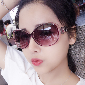 New style round cool sun mirror sunglasses