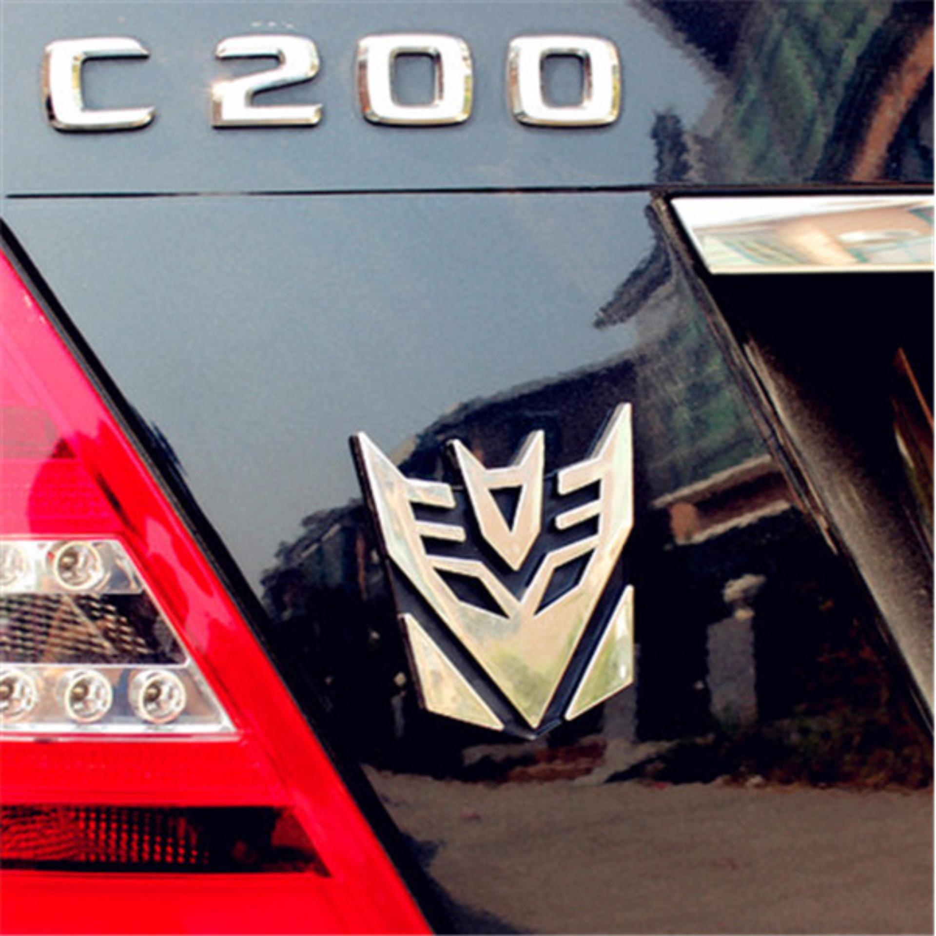 Transformers Autobots Car Emblem Badge Sticker Daftar Harga