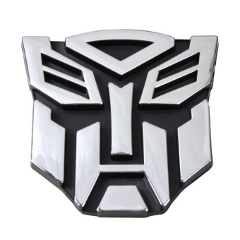 New Transformers Autobot 3D Logo Emblem Badge Decal Car Sticker - intl