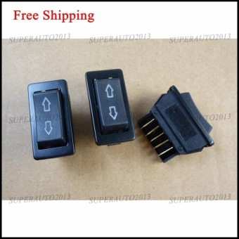 NEW UNIVERSAL 12V 20A Vehicle CAR POWER WINDOW SWITCH 5PINS 3PCS -intl Price Philippines