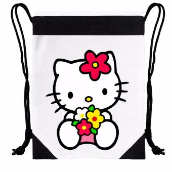 "Newyork Army ""Hello Kitty"" Statement Drawstring Bag Price Philippines"