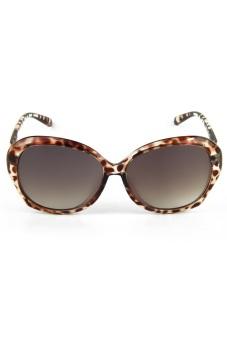 Newyork Army 8001 Retro Square Sunglasses - Leopard