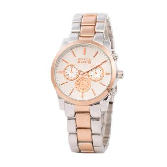Newyork Army NYA193 Rose Gold tone Dial Stainless Steel Strap Watch For Women