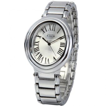Newyork Army Oval Women's Silver Tone Alloy Strap Watch NYA129