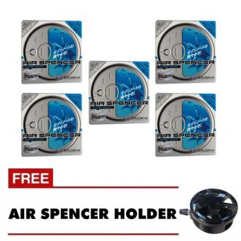 NFSC - Air Spencer Marine Squash Set Of 5 with free Holder