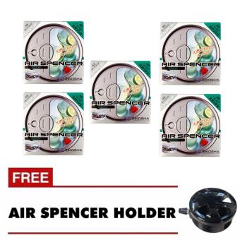NFSC - Air Spencer Squash Set Of 5 with free Holder