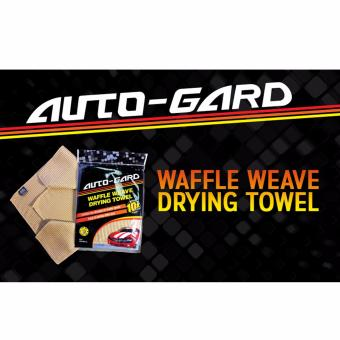 NFSC Auto-Gard Waffle Weave Drying Towel