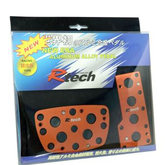 NFSC - R TECH RACING TYPE PADS AUTOMATIC RED 13024