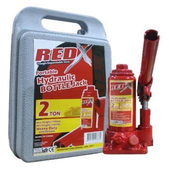 NFSC - Red X Hydraulic Bottle Jack - 2ton Price Philippines