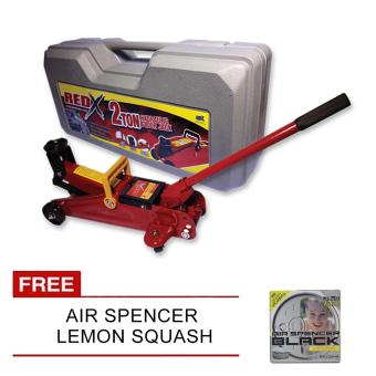 NFSC - Red X Hydraulic Floor Jack With Free Air Spencer Lemon Squash