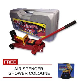 NFSC - Red X Hydraulic Floor Jack With Free Air Spencer Shower Cologne