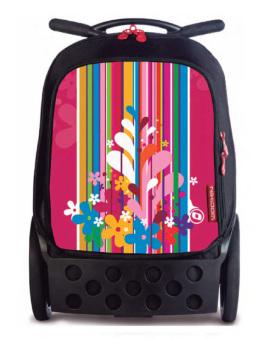Nikidom Roller RL-9009 Large Soft Case Bag (Floralia)